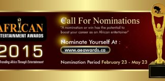 african entertainment awards canada, aeawards