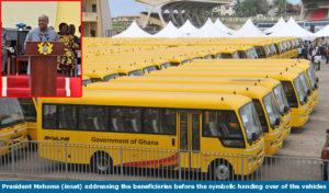 president_mahama_handing_vehicles_to_schools
