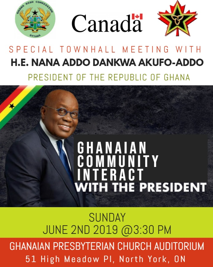 townhall meeting with nana addo